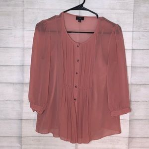 Gorgeous Talbots Pleated Blouse with Cami